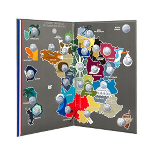 Coffret collector Monnaie de Paris 2011 - Les euro des régions (visuel complémentaire)