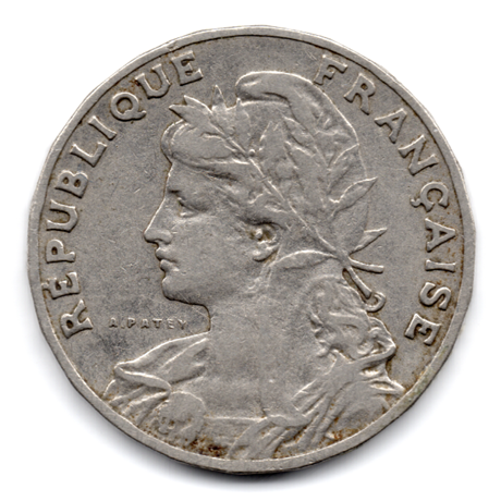 (FMO.025.1905.13.2.000000001) 25 centimes Patey, 2ᵉ type 1905 Avers