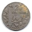 (FMO.025.1905.13.2.000000001) 25 centimes Patey, 2ᵉ type 1905 Revers
