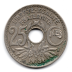 (FMO.025.1932.15.16.000000001) 25 centimes Lindauer 1932 Revers