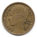 (FMO.1.1936.20.6.000000001) 1 Franc Morlon 1936 Avers
