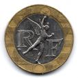 (FMO.10.1991.16.5.000000001) 10 Francs Génie de la Bastille 1991 Avers