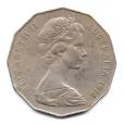 (W017.050.1978.1.1.000000001) 50 cents Emeu et kangourou 1978 Avers