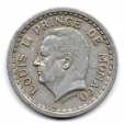 (W150.100.1943.1.1.000000001) 1 Franc Louis II 1943 Avers