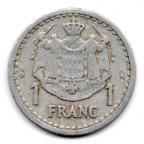 (W150.100.1943.1.1.000000002) 1 Franc Louis II 1943 Revers