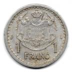(W150.100.1943.1.1.000000003) 1 Franc Louis II 1943 Revers