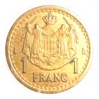 (W150.100.1945.1.2.000000001) 1 Franc Louis II 1945 Revers