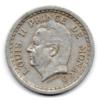 (W150.200.1943.1.1.000000001) 2 Francs Louis II 1943 Avers