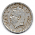 (W150.200.1943.1.1.000000001) 2 Francs Louis II 1943 Avers