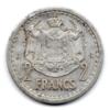 (W150.200.1943.1.1.000000001) 2 Francs Louis II 1943 Revers