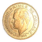 (W150.2000.1950.1.1.000000001) 20 Francs Rainier III 1950 Avers
