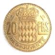 (W150.2000.1950.1.1.000000001) 20 Francs Rainier III 1950 Revers