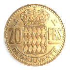 (W150.2000.1950.1.1.000000001) 20 Francs Rainier III 1950 Revers