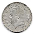 (W150.500.1945.1.1.000000001) 5 Francs Louis II 1945 Avers