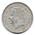 (W150.500.1945.1.1.000000001) 5 Francs Louis II 1945 Avers