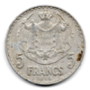 (W150.500.1945.1.1.000000001) 5 Francs Louis II 1945 Revers