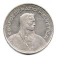 (W209.500.1984.1.2.000000001) 5 Francs Berger des Alpes 1984 Avers