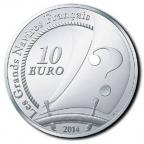 10 euro France 2014 argent BE - Le Pourquoi Pas Revers