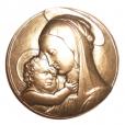 (FMED.Méd.MdP.CuSn165.000000004) Médaille bronze - Vierge de Botticelli Avers