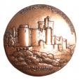 (FMED.Méd.MdP.CuZn3.000000003) Médaille bronze florentin - Château de Bonaguil Avers