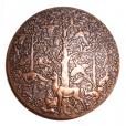 (FMED.Méd.MdP.CuZn3.000000003) Médaille bronze florentin - Château de Bonaguil Revers