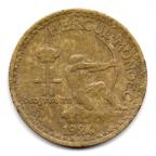 (W150.100.1924.1.-1.000000001) 1 Franc Crédit Foncier de Monaco 1924 Avers
