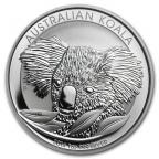 1 dollar Australie 2014 1 once argent BU - Koala Revers