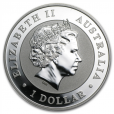 1 dollar Australie 2014 1 once argent BU - Kookaburra Avers