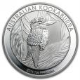 1 dollar Australie 2014 1 once argent BU - Kookaburra Revers