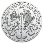1,50 euro Autriche 2014 1 once argent - Philharmonique Revers