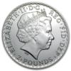 2 pounds Royaume-Uni 2014 1 once argent - Britannia Avers
