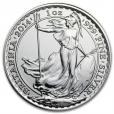 2 pounds Royaume-Uni 2014 1 once argent - Britannia Revers