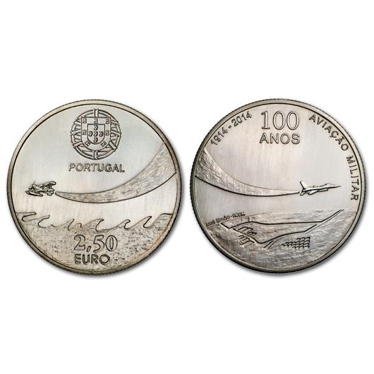 2,5 euro Portugal 2014 - Aviation militaire (visuel supplémentaire)