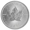 5 dollars Canada 2014 1 once argent - Feuille d'érable Revers