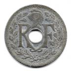 (FMO.010.•1941•.9.3.000000001) 10 centimes Lindauer, zinc •1941• Avers