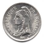 (FMO.1.1992.30.1.000000004) 1 Franc République 1992 Avers