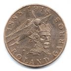 (FMO.10.1988.13.2.000000001) 10 Francs Roland GARROS 1988 Avers