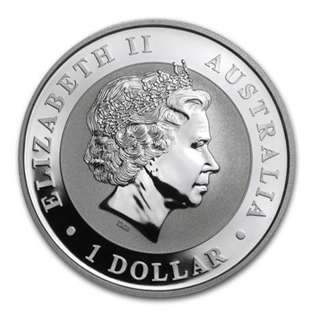 (W017.100.2014.1.oz.Ag.1) 1 Dollar Australie 2014 1 once argent BU - Koala Avers