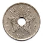 (W046.010.1911.1.1.000000001) 10 centimes aux cinq monogrammes 1911 Revers