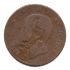 (W115.010.1863.1.1.000000002) 10 Centesimi Victor Emmanuel II 1863 Avers