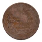(W115.010.1863.1.1.000000002) 10 Centesimi Victor Emmanuel II 1863 Revers