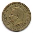 (W150.100.1945.1.2.000000002) 1 Franc Louis II 1945 Avers