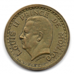 (W150.100.1945.1.2.000000002) 1 Franc Louis II 1945 Avers
