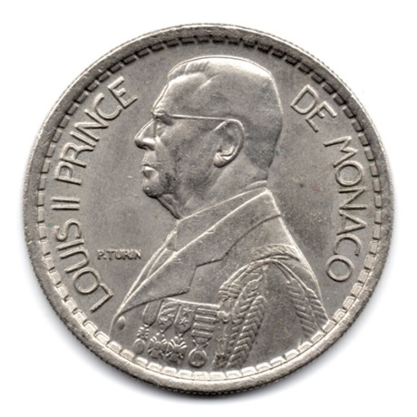 (W150.1000.1946.1.2.000000001) 10 Francs Louis II 1946 Avers