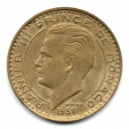 (W150.2000.1951.1.2.000000001) 20 Francs Rainier III 1951 Avers