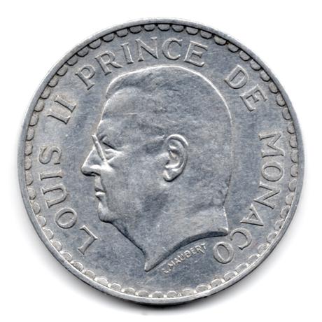 (W150.500.1945.1.1.000000003) 5 Francs Louis II 1945 Avers