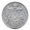 (W150.500.1945.1.1.000000004) 5 Francs Louis II 1945 Revers
