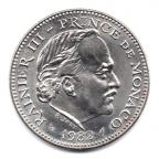 (W150.500.1982.1.2.000000001) 5 Francs Rainier III 1982 Avers