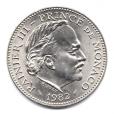 (W150.500.1982.1.2.000000002) 5 Francs Rainier III 1982 Avers