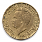 (W150.5000.1950.1.1.000000001) 50 Francs Rainier III 1950 Avers